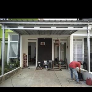 Harga kanopi baja ringan atap spandek 190 m2 trima rapih hub 0852 1600 | HARGALOKA.COM