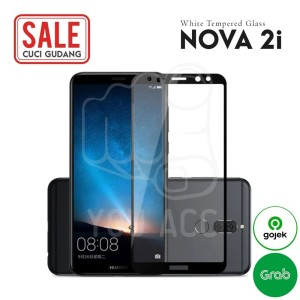 Harga tempered glass huawei nova 2i bening termurah good quality   | HARGALOKA.COM