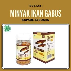 Harga kapsul albumin minyak ikan gabus olimex asli   sari kutuk | HARGALOKA.COM