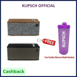 Harga klipsch the one ii bluetooth wireless powered audio system     HARGALOKA.COM