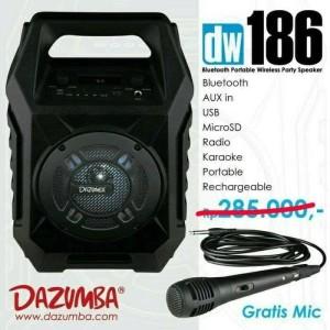 Harga speaker aktif portable dazumba dw 186 free | HARGALOKA.COM