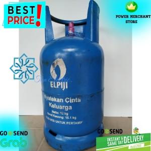 Harga tabung gas lpg 12kg isi   segel gojek grab instant courier only | HARGALOKA.COM