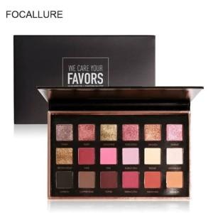 Harga focallure bright lux eyeshadow palette 18 color   HARGALOKA.COM