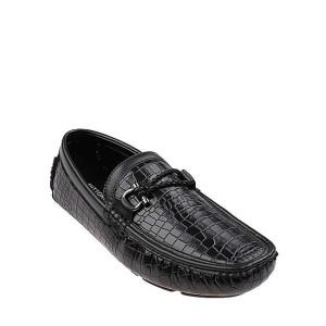 Harga antton amp co sepatu loafers dadong in black al74054bk   | HARGALOKA.COM