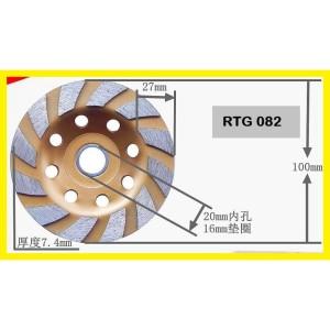 Harga Promo 75mm 180 Grit Diamond Grinding Wheel Cup Grinder Milling For Katalog.or.id
