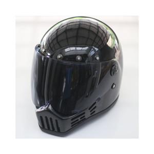 Katalog M30 Hitam Outer Visor Full Face Retro Helmet Katalog.or.id