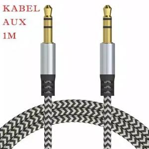 Harga kabel aux audio panjang 1 meter jack hp komputer ke | HARGALOKA.COM
