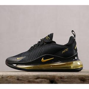 Harga sepatu sneakers nike airmax 720 270 black gold   HARGALOKA.COM