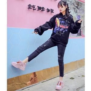 Harga sepatu wanita import sneakers olahraga wanita cewek tredy korea sp 052   merah muda | HARGALOKA.COM