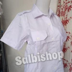 Harga kemeja putih wanita pdh kemeja pns cewek   putih | HARGALOKA.COM