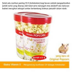 Katalog Makanan Cemilan Hamster Snack Huft Kuaci Dan Popcorn Original Mixtures Katalog.or.id