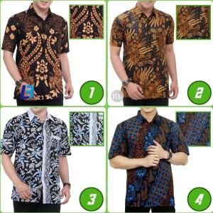 Harga kemeja baju hem batik pria motif murah berkualitas | HARGALOKA.COM