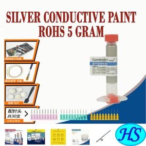 Harga silver conductive paint rohs 3ml penyambung jalur pcb | HARGALOKA.COM