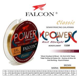Harga senar pancing falcon power 150 meter galatama anti keriting   0 | HARGALOKA.COM