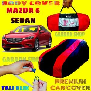 Harga body cover mazda 6 sarung merah tutup bodi mobil mazda6 sedan | HARGALOKA.COM