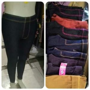 Harga celana leggings jeans panjang murah dan berkualitas size | HARGALOKA.COM