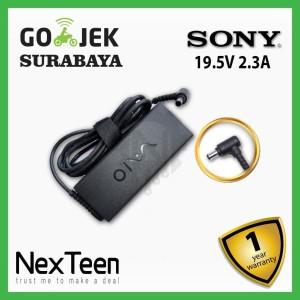 Harga charger adaptor orignal sony vaio svf142c1ww svf14215sc 19 5v 2   HARGALOKA.COM
