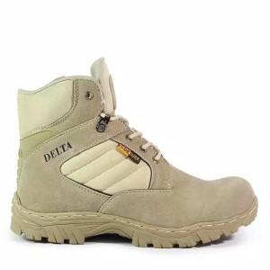 Harga sepatu import outdoor gunung polisi tentara murah premium   hitam | HARGALOKA.COM