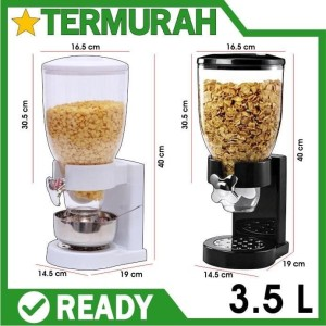 Harga cereal dispenser cyprus sereal snack kacang biji kopi makanan | HARGALOKA.COM