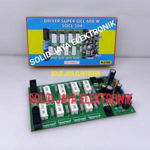 Harga kit driver socl 504 power amplifier super ocl 600w socl504 nelc   HARGALOKA.COM
