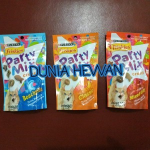 Info Snack Kucing Party Mix Friskies 60gr Cemilan Kucing Katalog.or.id