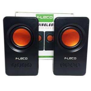 Harga speaker portabel bluetooth fleco f 24 bt fm radio speaker | HARGALOKA.COM