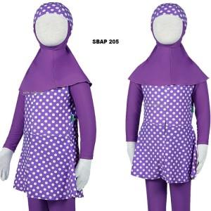 Harga baju renang anak muslim muslimah wanita perempuan cewek sulbi sbap 200   1 2 3 | HARGALOKA.COM