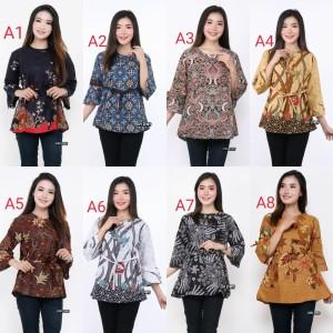 Harga baju atasan batik wanita | HARGALOKA.COM