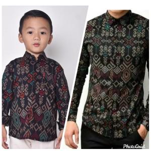 Harga batik songket couple ayah dan anak   couple   HARGALOKA.COM