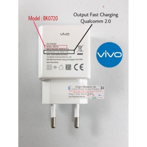 Harga charger casan hp vivo fast charging v5 plus original 100   HARGALOKA.COM