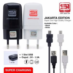 Harga jakarta edition charger premium high quality micro usb all tipe | HARGALOKA.COM