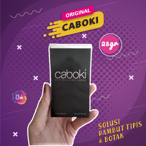 Harga caboki hair building fiber 25gr kirim via gojek | HARGALOKA.COM