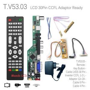 Harga universal lcd led tv board paket lengkap panel 12 34  24 34 tinggal | HARGALOKA.COM