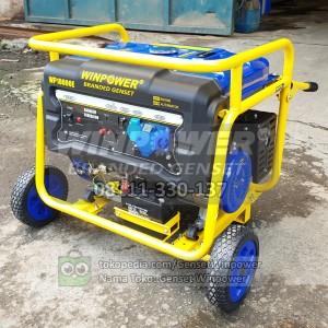 Harga genset generator winpower 7000 watt electric starter wp10000e | HARGALOKA.COM