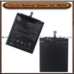 Harga baterai xiaomi redmi 5a bn34 bn 34 bn 34 original batre batrai   HARGALOKA.COM
