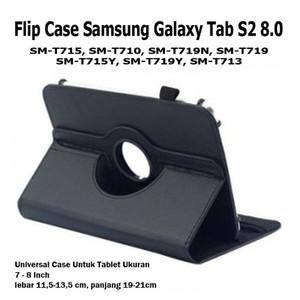 Harga samsung galaxy tab s2 s 2 8 0 inch rotate flip book cover case casing   | HARGALOKA.COM