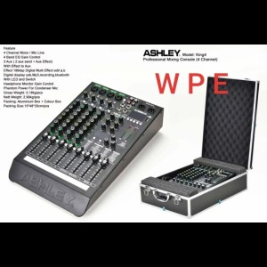 Harga mixer audio ashley king4 original ashley king 4 4 | HARGALOKA.COM