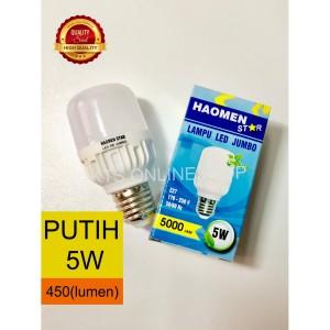 Harga haomen lampu led 5w murah   HARGALOKA.COM