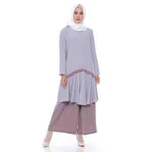 Harga kyoya madia list tunic   light grey all | HARGALOKA.COM