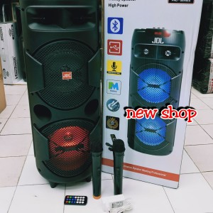 Harga speaker portable meeting wireless jdl qvb 8   HARGALOKA.COM