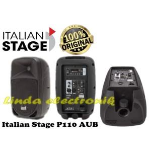 Harga speaker aktif italian stage p110 aub original 10 inch bluetooth usb | HARGALOKA.COM