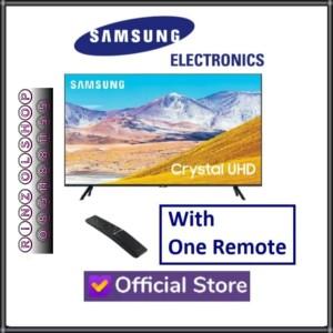 Harga led tv samsung 75tu8000 smart tv crystal uhd one remote air | HARGALOKA.COM