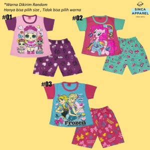 Harga setelan baju anak cewek perempuan kombinasi kaos celana     HARGALOKA.COM