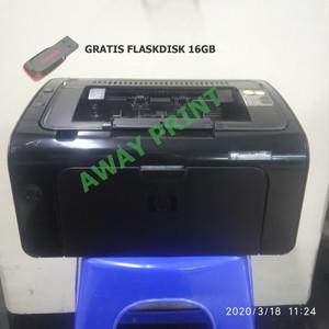 Harga printer hp laserjet p1102w p 1102 w free plahdisk 16 | HARGALOKA.COM