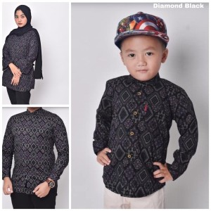 Harga waryulion baju batik couple ibu ayah anak baju seragam | HARGALOKA.COM