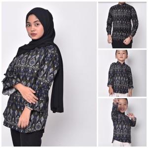 Harga waryulion baju batik couple ibu ayah dan anak torpedo | HARGALOKA.COM