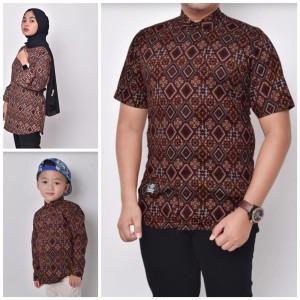 Harga waryulion baju couple keluarga baju batik couple ibu ayah | HARGALOKA.COM