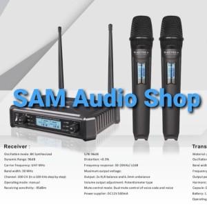 Harga mic wireless ev electro voice vr 1 dual handle | HARGALOKA.COM