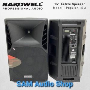 Harga speaker aktif hardwell 15inch popular 15a | HARGALOKA.COM