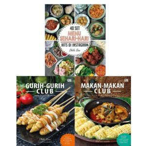Harga buku 40 set menu sehari hari gurih gurih makan makan club dhila | HARGALOKA.COM